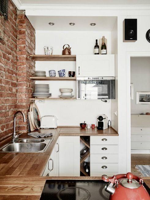 Dicas de decoração para cozinhas pequenas 3