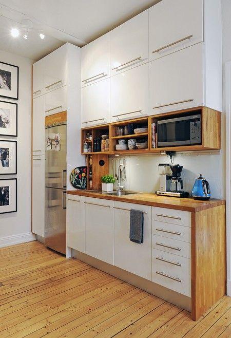 Dicas de decoração para cozinhas pequenas 4
