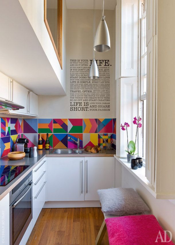 Dicas de decoração para cozinhas pequenas 5