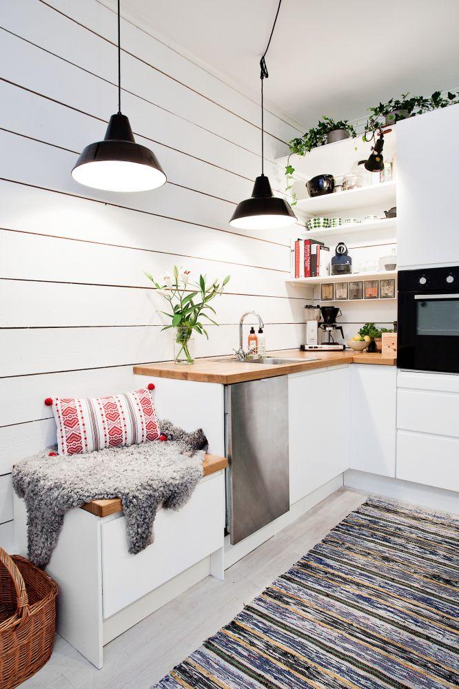 Dicas de decoração para cozinhas pequenas 7