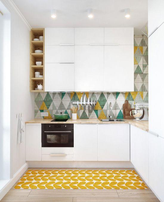Dicas de decoração para cozinhas pequenas 8