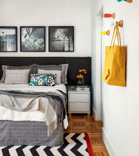 Criado-mudo na decoração do quarto 6