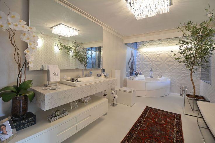 Decoração Para Banheiros Grandes Dicas E Inspirações