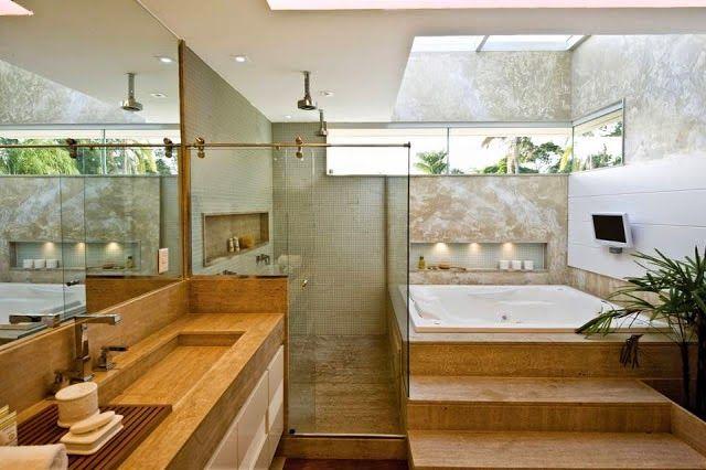 Decoração para banheiros grandes 3