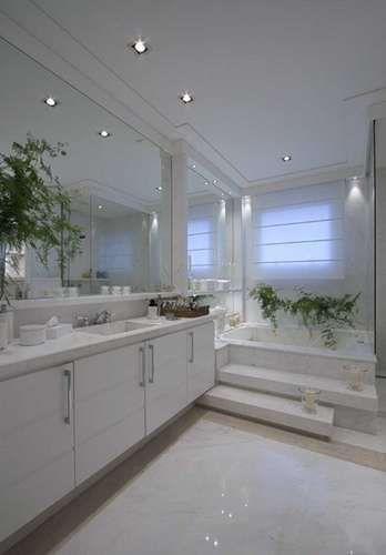 Decoração para banheiros grand -> Banheiros Grandes Decorados Com Pastilhas
