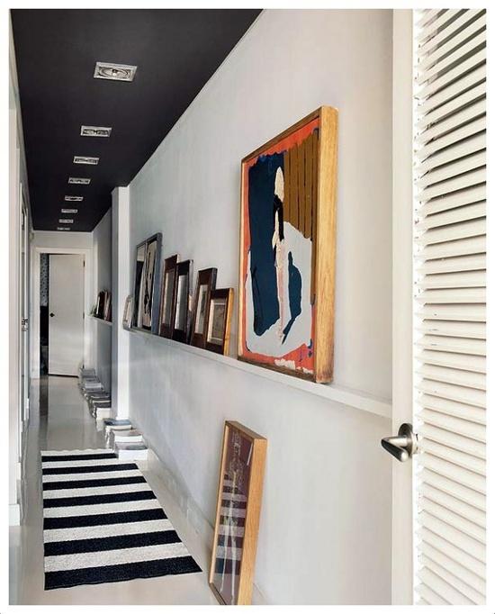 Ideias para decorar o corredor 5