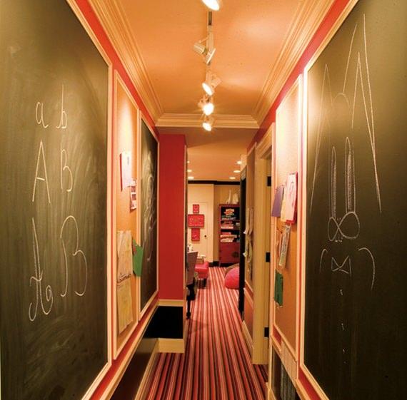 Ideias para decorar o corredor 8