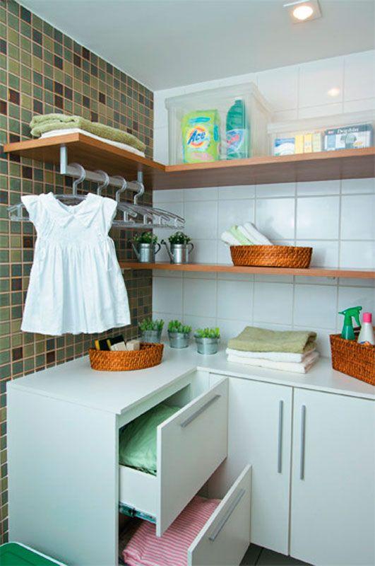 Rea de servi o organizada dicas e inspira es para decorar - Armarios para lavaderos ...