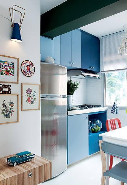 Cozinha colorida 11