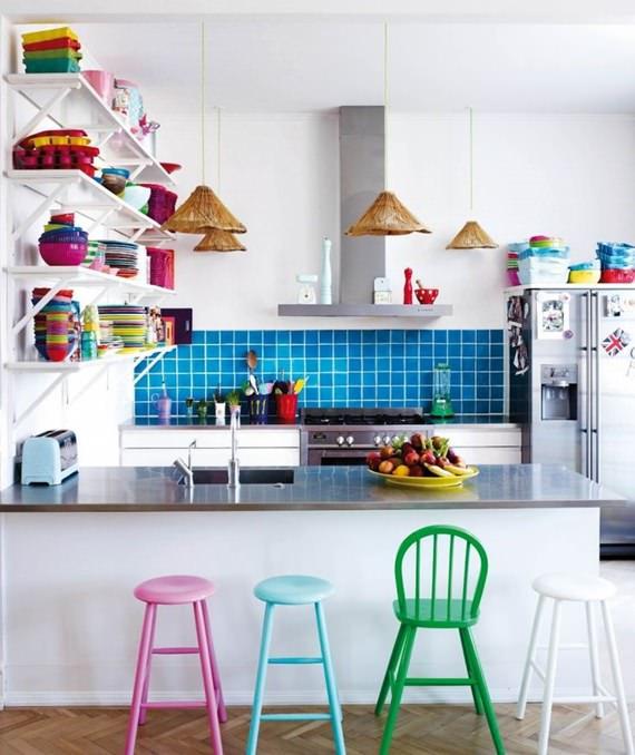 Cozinha colorida 5