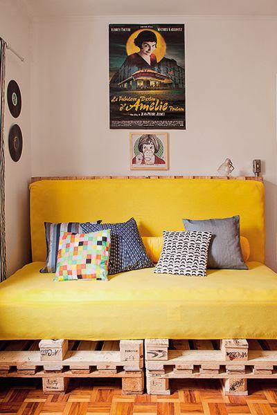 Sofá-cama na decoração 2