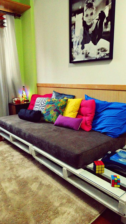 Sofá-cama na decoração 9