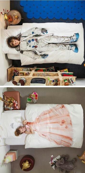 Cama infantil na decoração do quarto 16