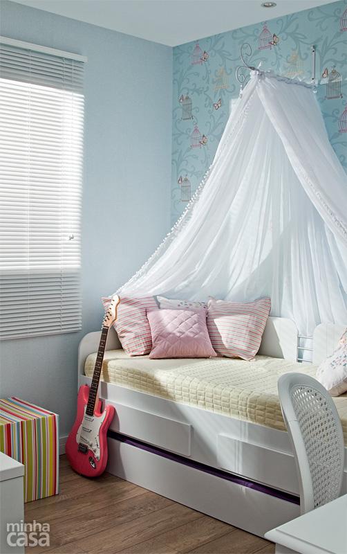 Cama infantil na decoração do quarto 4
