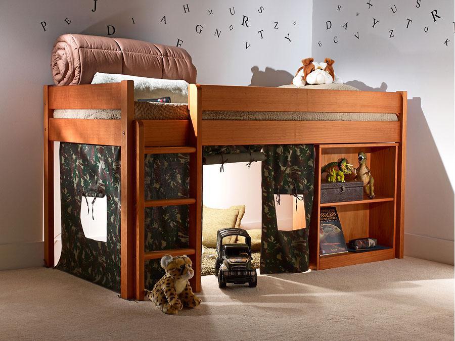 Cama infantil na decoração do quarto 6