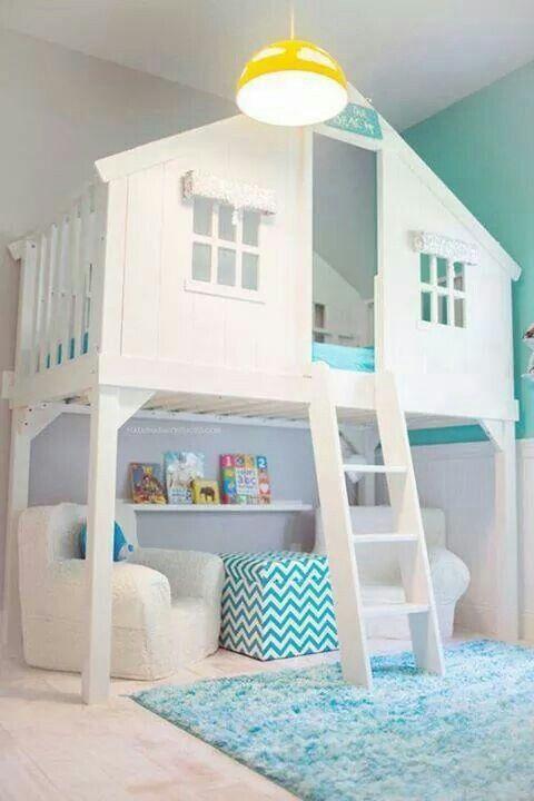 Cama infantil na decoração do quarto 7