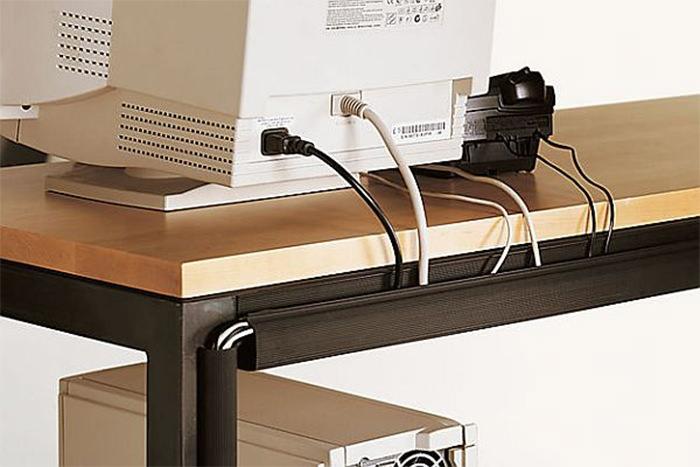 Como disfarçar os fios de eletrônicos 4