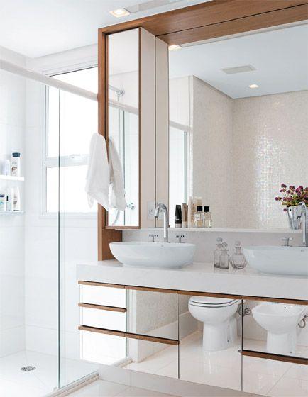 Como organizar bancada do banheiro 11