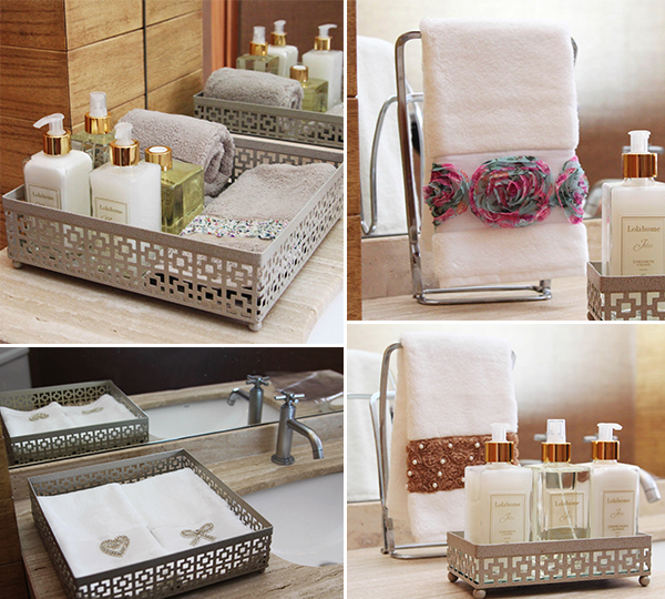 Como organizar a bancada do banheiro -> Como Organizar Um Armario De Banheiro