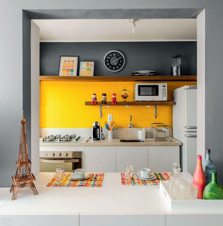Como organizar cozinhas pequenas 11