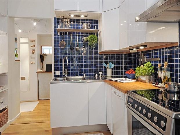 Como organizar cozinhas pequenas 14