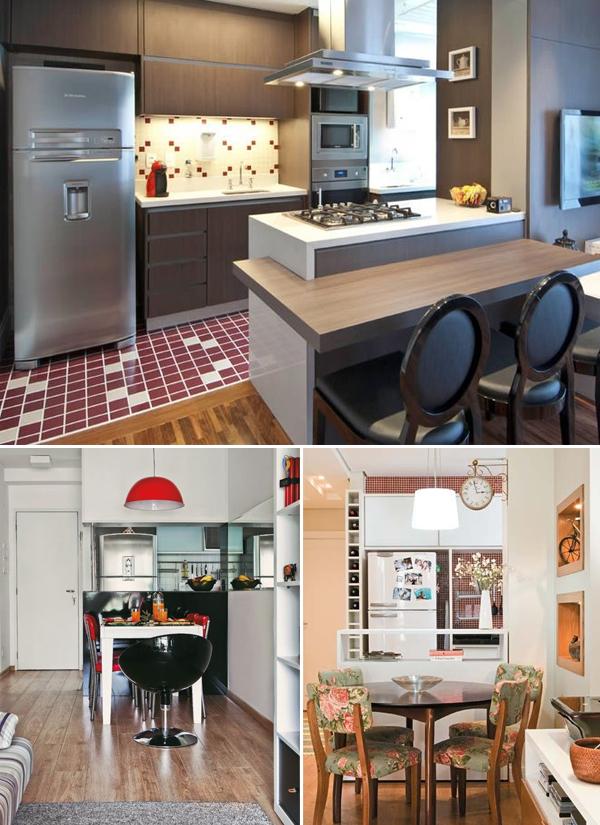 Como organizar cozinhas pequenas 3