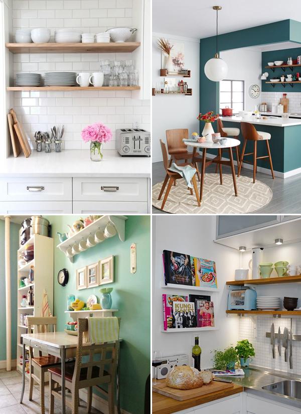 Como organizar cozinhas pequenas 4