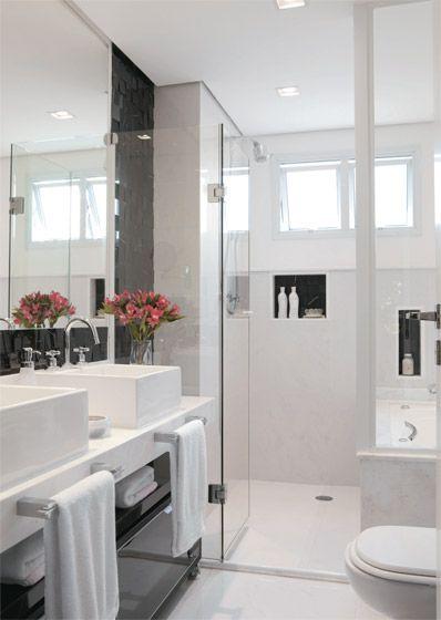 Banheiro preto e branco 4