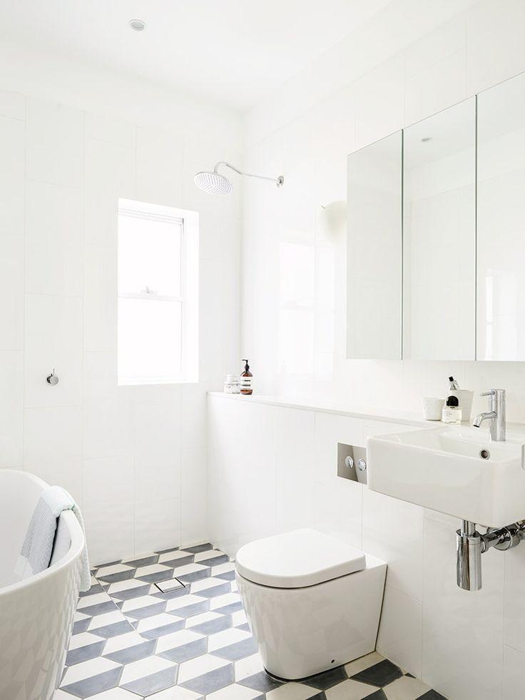 Banheiro preto e branco 6