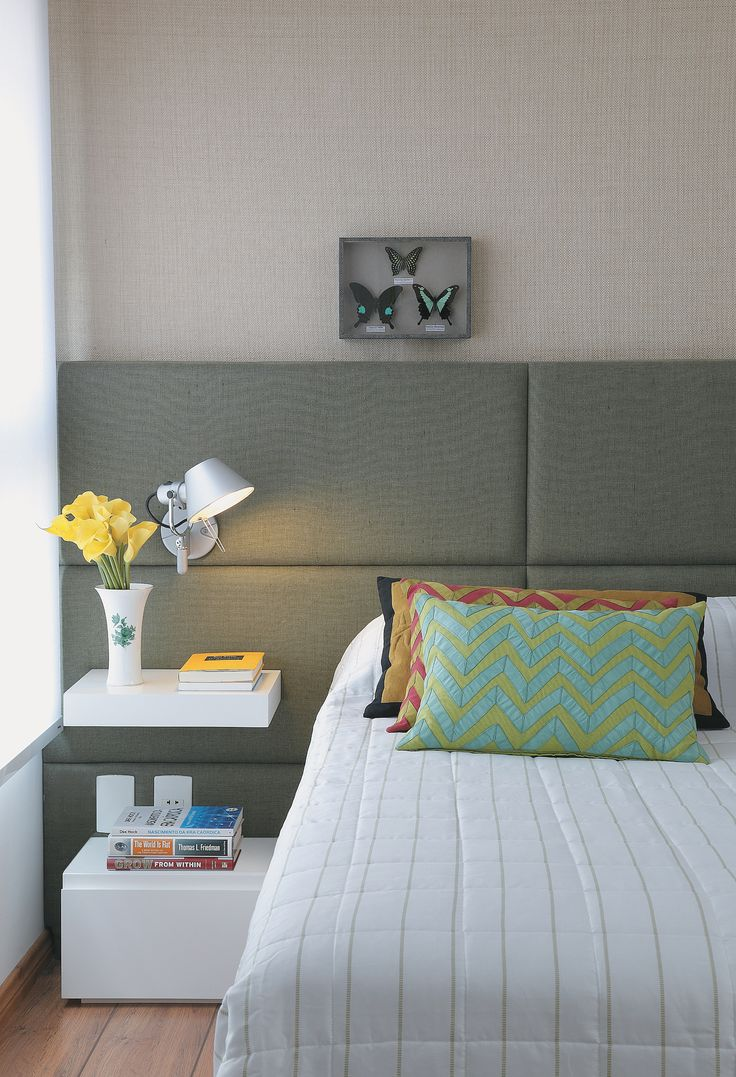 Como decorar a cabeceira de cama 2