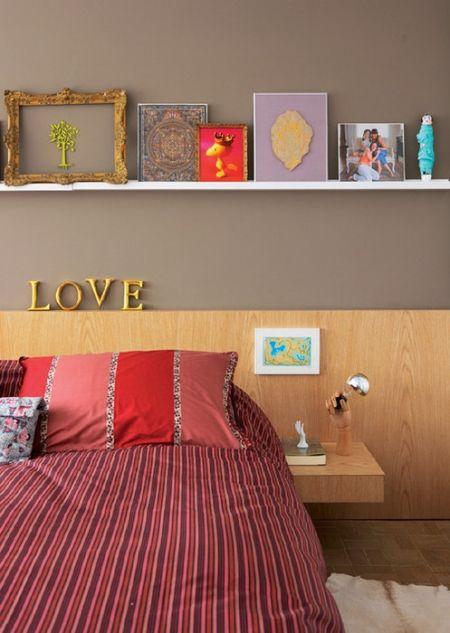 Como decorar a cabeceira de cama 7