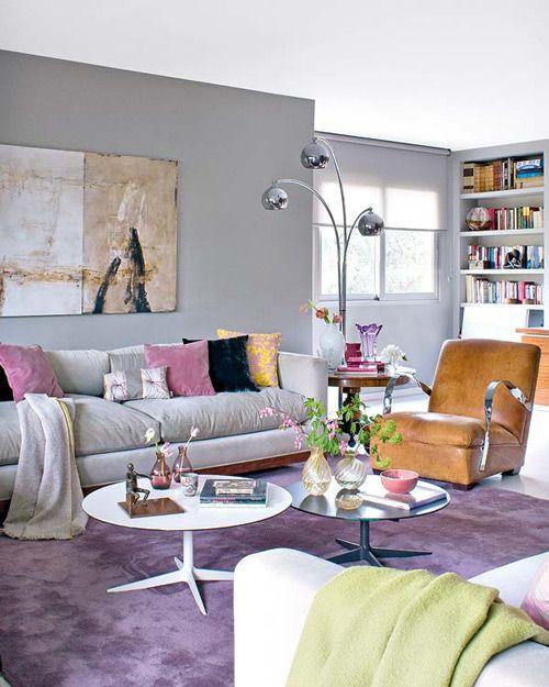 Sofá cinza na decoração 15