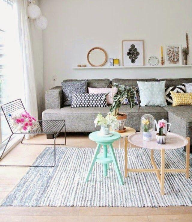 Sofá cinza na decoração 4