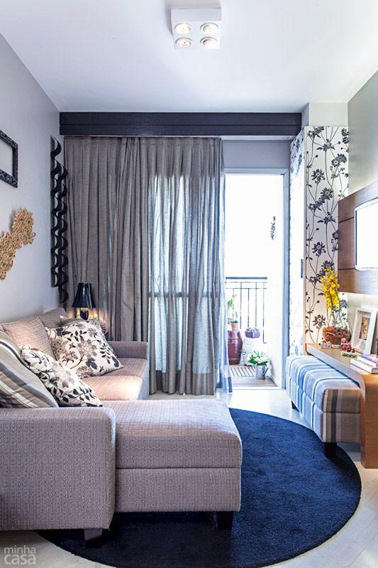 Sofá cinza na decoração 9