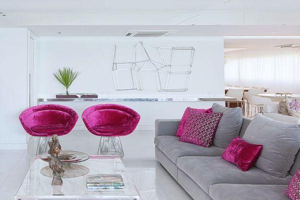 Outubro Rosa: inspirações para usar rosa na decoração 4