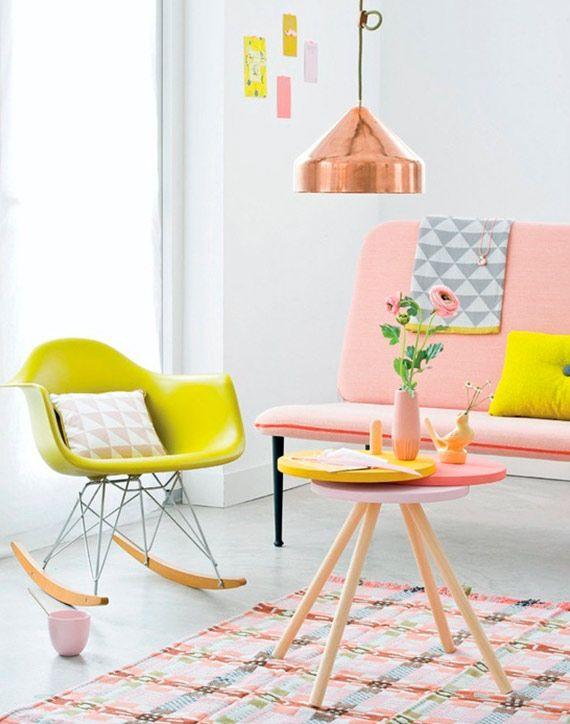 Cadeira de balanço na decoração 3