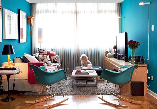 Cadeira de balanço na decoração 7