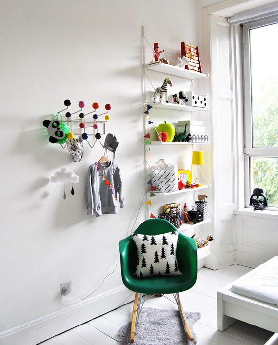 Cadeira de balanço na decoração 9