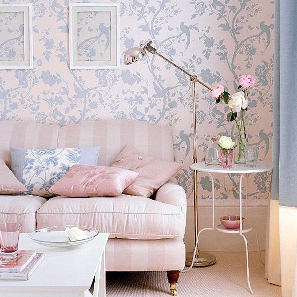 Papel de parede floral 2