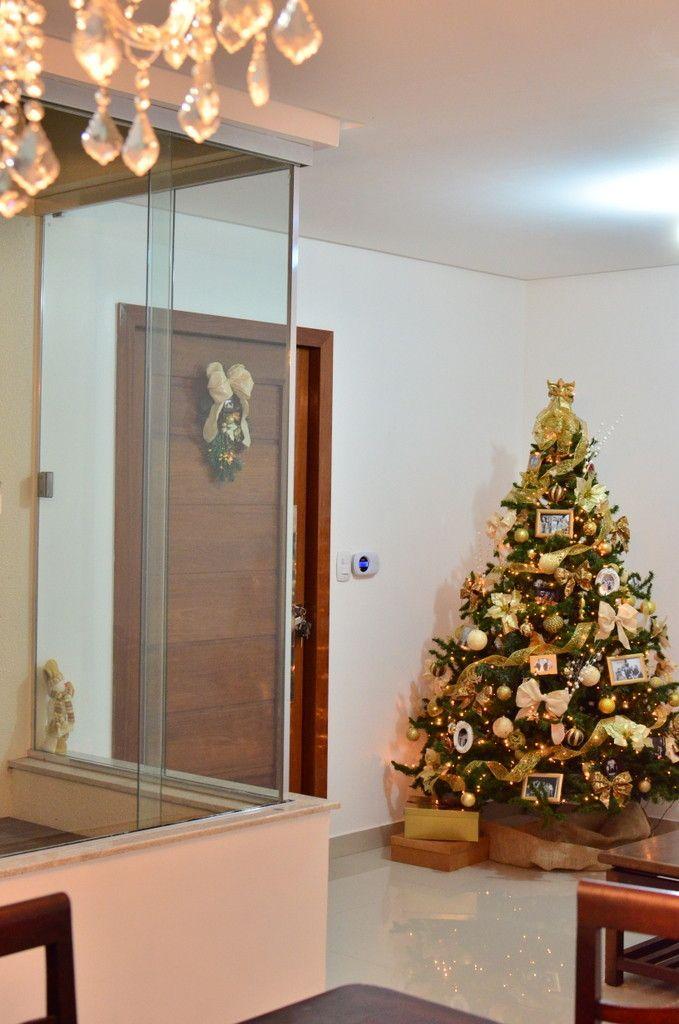 Casa decorada para o Natal 7