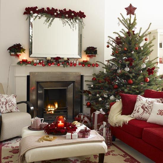Casa decorada para o Natal