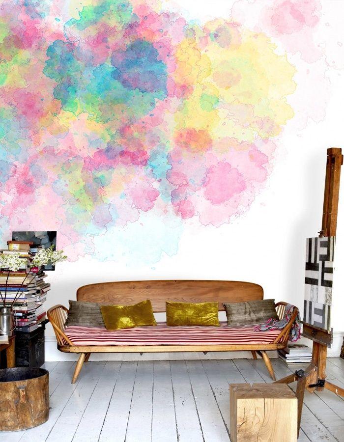Decoração com aquarelas 6