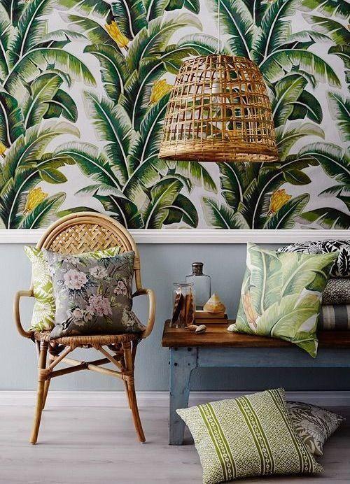 Decoração estilo tropical 6