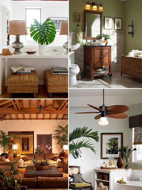 Decoração estilo tropical 9