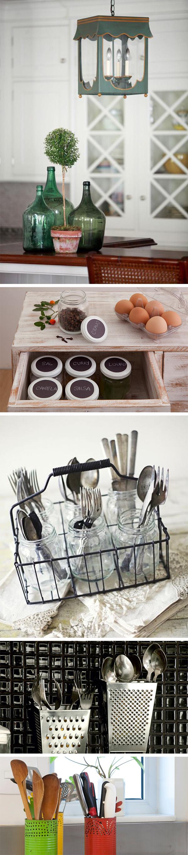 Ideias econômicas para decorar a cozinha 4