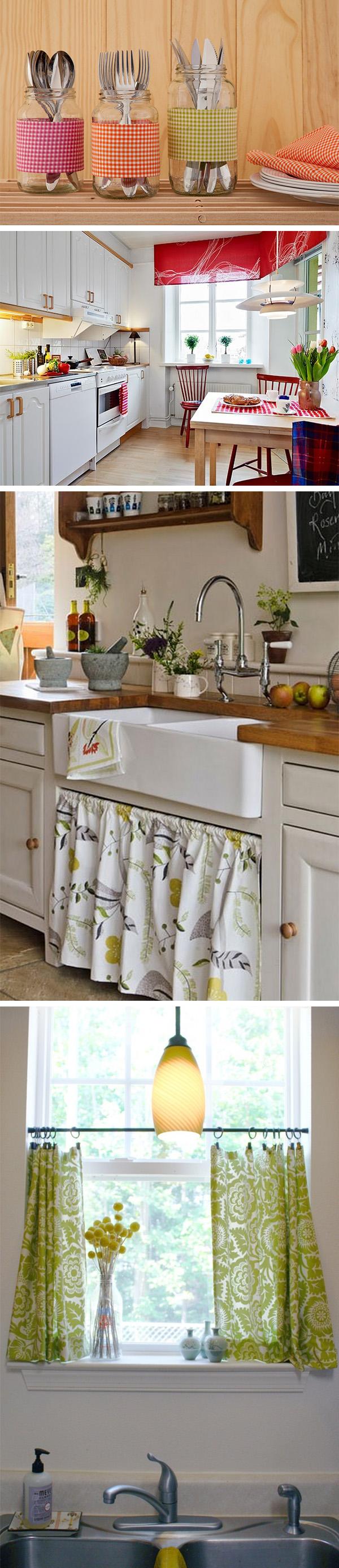 Ideias econômicas para decorar a cozinha 5