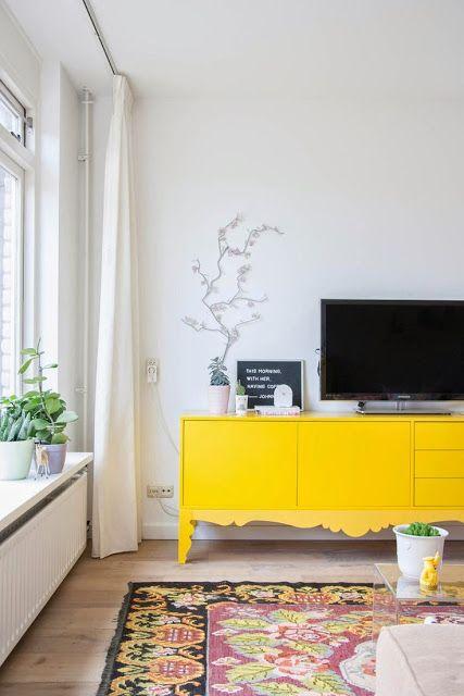 Como usar amarelo na decoração 11