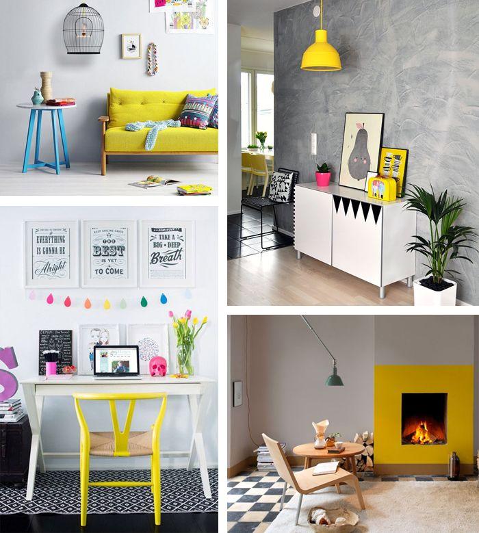 Como usar amarelo na decoração 5