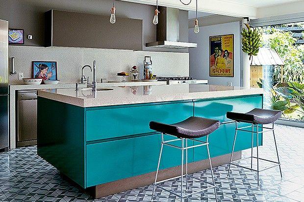 Decoração de cozinha moderna 10