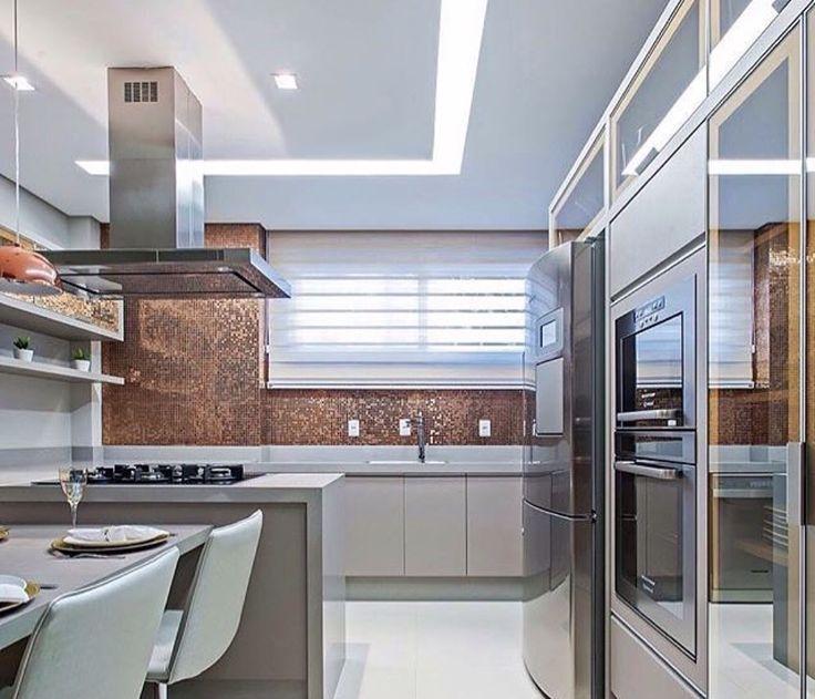 Decoração de cozinha moderna 11